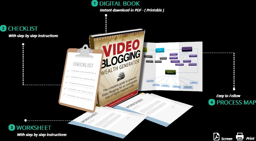 Vidio Blogging Wealth Generator